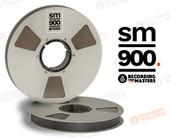 """RMG 34820 - SM900 1"""" x 2500' Analog Tape - 10.5"""" Metal Reel + Box"""
