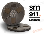 "RMGI / Recording the Masters 34110 - SM911 1/4"" x 600' Analog Tape - Plastic Reel + Box"