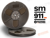 "RMGI / Recording the Masters 34111 - SM911 1/4"" x 1200' Analog Tape - 7"" Plastic Reel + Box"