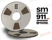 """RMGI / Recording the Masters 34120 - SM911 1/4"""" x 2500' Analog Tape - 10.5"""" Metal Reel + Box"""