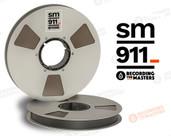 """RMGI / Recording the Masters 34320 - SM911 1"""" x 2500' Analog Tape - 10.5"""" Metal Reel + Box"""