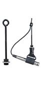 "AEA Microphones - AEA Long Microphone Hanger 4""/6"""