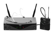 AKG WMS420 HEADWORN SET PROFESSIONAL WIRELESS MICROPHONE SYSTEM