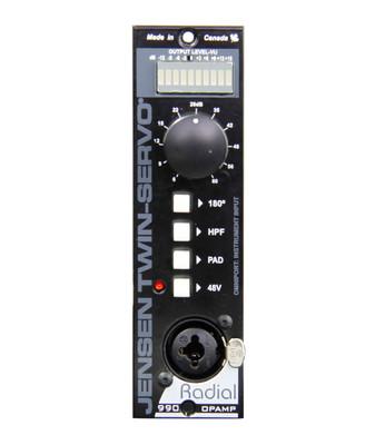Radial Engineering Tonebone Twin-Servo Microphone Preamplifier - Front