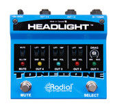 Radial Engineering Tonebone Headlight™ Guitar Amp Selector - Top View
