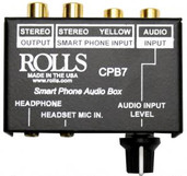 Rolls CPB7 Smart Phone Audio Break Out Box