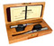 QTC40mp 40kHz omnidirectional microphone for quiet sources – matched pair w/ cherry wood box (included)