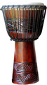 "Triangular Braid Pro Djembe by Freedom Drums: 20"" x 11"""