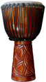 "Mahogany Sunrise Pro Djembe by Freedom Drums: 24"" x 12"""