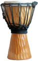 "Tree Bark Djembe-Natural: 16"" x 8"""