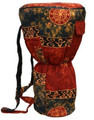 """Red Celestial Djembe Bag: 20"""" x 12"""" (Blemished Discount)"""