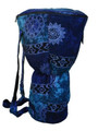 "Blue Celestial Djembe Bag: 24"" x 13.5"" (Blemished Discount)"