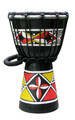 "Native Sunset Djembe: 12"" x 7"""