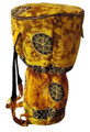 "Gold Celestial Djembe Bag: 26"" x 15.5"""