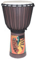 "Painted Djembe # 2: 23"" x 11.5"""