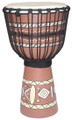 "Painted Djembe # 5: 24"" x 11"""