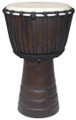 "Basic Carved Djembe: 20"" x 11"""
