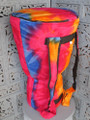 "Tie Dye Djembe Bag: 26"" x 15.5"" (Blemished Discount)"