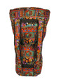 "Tribal Motif Djembe Bag-24"" x 13.5"" (Blemished Discount)"