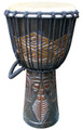 "Tribal Faces Djembe: 20"" x 10"""