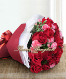 24 Roses Hand Bouquet