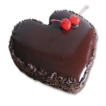 Heart Shaped Chocolate Fudge