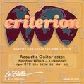 La Bella CRITERION Acoustic Guitar C520S Light Gauge String Set