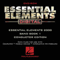 Essential Elements Digital - Band Book 1 (Conductor Edition on DVD-ROM)