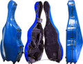 Fiberglass Bass Case Blue, CC8340B-2-BU - 3/4