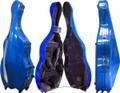 Fiberglass Bass Case Blue, CC8340B-2-BU - 3/4