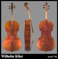 Wilhelm Klier Model 702 Cello
