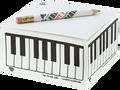 Keyboard Memo Pad with Pencil