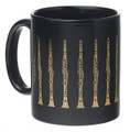 Clarinet Mug - Black/Gold