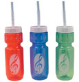 Drink Bottles G-Clef (Assorted Colors)