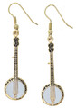 Banjo Earrings