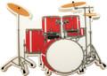 5 Piece Drum Set Magnet
