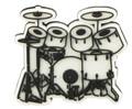 7 Piece Drum Set Magnet