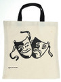 Comedy/Tragedy Tote Bag - White