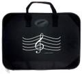 """G-Clef Briefcase - Black 16"""" x 12"""""""