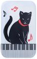 Cats/Keyboard Metal Magnet