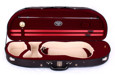 Tonarelli Violin Light Case Double Tone Ext. Black Half Moon