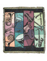 """""""Life is empty without music! This beautifully rendered blanket has an instrument design and vivid color. Measures 48"""""""" wide by 60"""""""" long. 100% Cotton."""""""