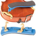 Kun Mini Collapsible Shoulder Rest Violin – Blue