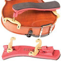 Kun Mini Collapsible Shoulder Rest Violin – Red