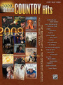 2009 Greatest Country Hits. (Deluxe Annual Edition). By Various. For Piano, Keyboard, Voice. P/V/C Mixed Folio; Piano/Vocal/Chords. MIXED. Country. Softcover. 176 pages. Alfred Music Publishing #32869. Published by Alfred Music Publishing.  Pick up the deluxe annual edition of 2009 Greatest Country Hits and play all the best songs of 2009! This unique compilation includes the most popular country songs released throughout the year. Learn the best hits of the year! Titles: 15 Minutes of Shame (Kristy Lee Cook) * All Summer Long (Kid Rock) * A Baby Changes Everything (Faith Hill) * Cry Cry ('Til the Sun Shines) (Heidi Newfield) * Do You Believe Me Now (Jimmy Wayne) * Feel That Fire (Dierks Bentley) * Forever (John Michael Montgomery) * Home (Blake Shelton) * Home Sweet Home (Carrie Underwood) * I Run to You (Lady Antebellum) * I Saw God Today (George Strait) * I Still Miss You (Keith Anderson) * I Told You So (Carrie Underwood) * I Will (Jimmy Wayne) * Just a Dream (Carrie Underwood) * Just Got Started Lovin' You (James Otto) * Let It Go (Tim McGraw) * Life in a Northern Town (Sugarland) * Lookin' for a Good Time (Lady Antebellum) * Low (Sara Evans) * River of Love (George Strait) * She Wouldn't Be Gone (Blake Shelton) * Shuttin' Detroit Down (John Rich) * That Song in My Head (Julianne Hough) * That's A Man (Jack Ingram) * Then (Brad Paisley) * Waitin' on a Woman (Brad Paisley) * What Do I Do with My Heart (Eagles) * Where I'm From (Jason Michael Carroll).