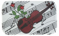 Violin/Rose Metal Magnet