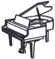 Grand Piano Silhouette