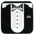 Keyboard Tux Vinyl Coaster