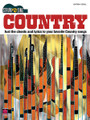 Country. (Strum & Sing Series). By Various. For Guitar. Easy Guitar. Softcover. 78 pages. Published by Cherry Lane Music.  Lyrics and chords for over 30 country classics, including: Always on My Mind • Amazed • Blue • A Boy Named Sue • Crazy • The Gambler • In My Daughter's Eyes • Love Can Build a Bridge • Thank God I'm a Country Boy • Wide Open Spaces • and more.