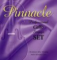 Pinnacle Cello A String - Rope/chrome
